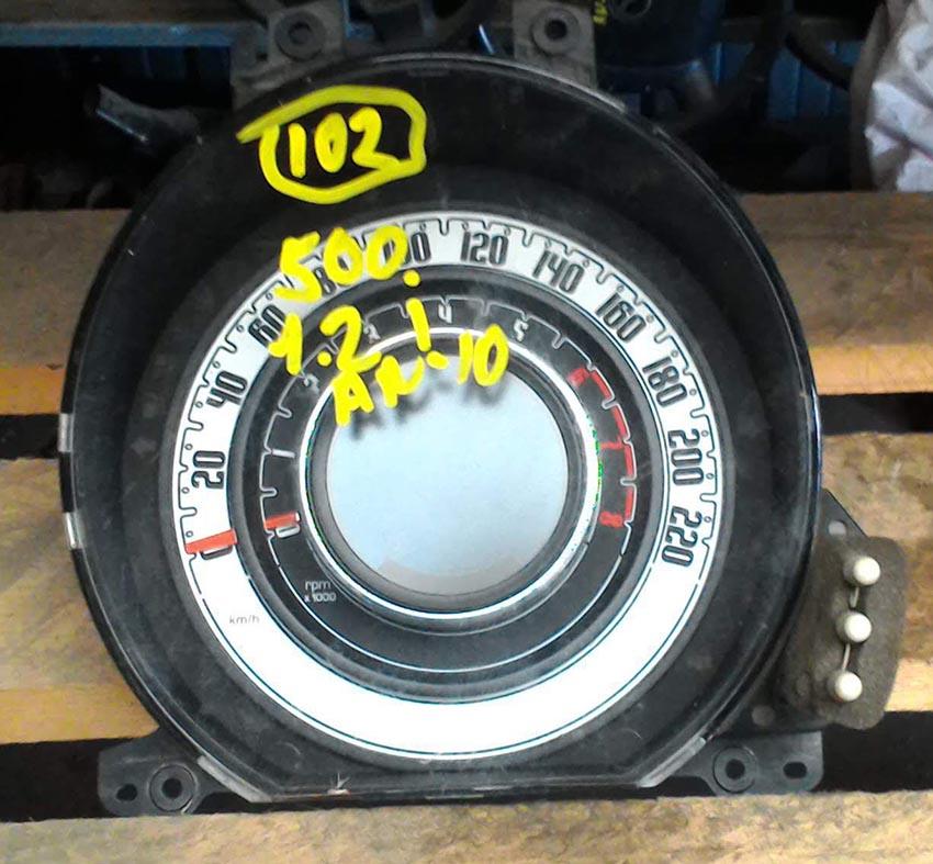 Quadro Strumenti FIAT 500 (07>14) 1200cc - Benzina